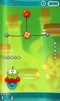 Cut The Rope: Experiments on Blackberry 10